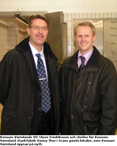 Steve Fredriksson och Kenny Thor
